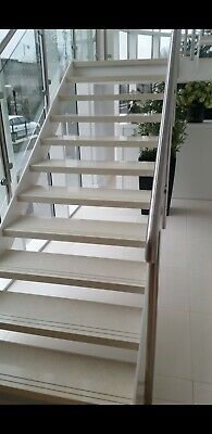 Stainless  Steel Glass Balustrade Stair Case, Glass Clamps, Glass Panels  • 2,500£