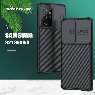 AU19.95 • Buy For Samsung Galaxy S20 FE S21 Ultra Plus Nillkin CamShield Case Shockproof Cover