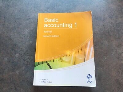 Osborne Books Basic Accounting 1 Tutorial Aat Level 2 Accounting • 0.99£