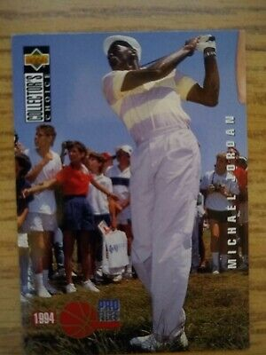 $1 • Buy 1994-95 Upper Deck Collectors Choice Michael Jordan -  Pro Files Golf Card #204