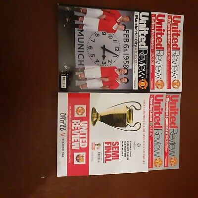 Manchester United Programmes 2007/08 • 2.50£