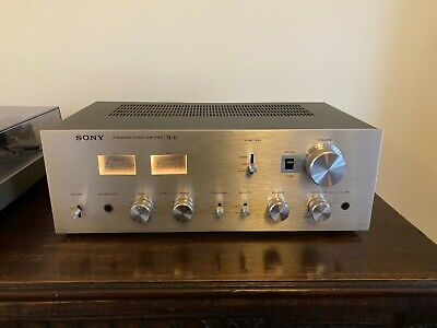 Vintage Sony TA 11 Integrated Stereo Amplifier - Japan - VGC • 180£