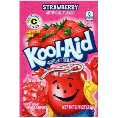 10 Kool Aid Strawberry Sachet • 6.49£