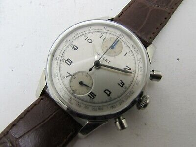$ CDN634.58 • Buy Vintage Gallet 2 Chronograph Valjoux Wind Movement  Men Watch