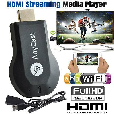 WiFi HDMI Anycast Miracast Airplay TV Wireless Display DLNA Dongle Adapter UK • 12.99£