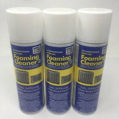 AU53.66 • Buy NEW LOT OF 3 AC Safe Air Conditioner Spray Coil Foaming Cleaner AC-921 3x19oz