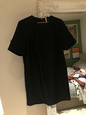 Topshop Boutique Formal Tshirt-style Dress With Slight Glitter Detail Size 10 • 7.80£