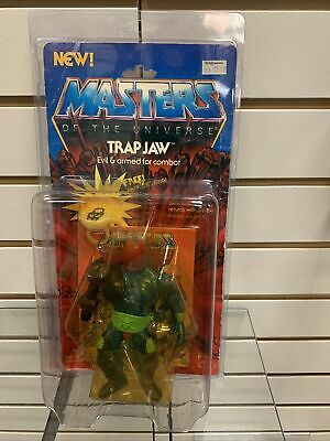 $699.99 • Buy MOTU Trap Jaw Masters Of The Universe Vintage 1983 Sealed MOC W/ Case Complete