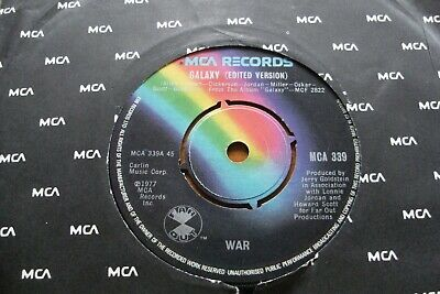 AU14.99 • Buy GALAXY 1977 WAR 45 Rpm SINGLE 7  VINYL  R ECORD