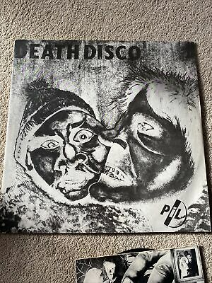 PUBLIC IMAGE LTD.-death Disco (HK) 12, Memories 12inch And Memories 7inch • 9£