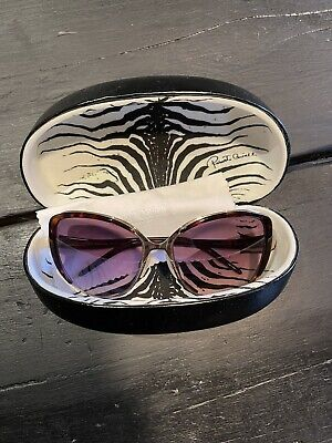 £55 • Buy Roberto Cavalli Sunglasses. Large Cats Eye Style. Gold And Tortoise Shell