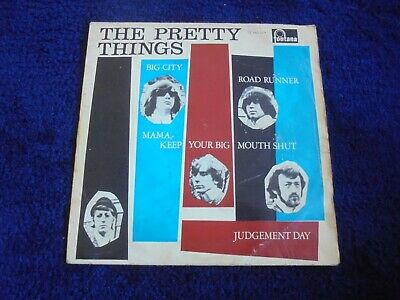 The Pretty Things - Road Runner 1965 HOLLAND EP FONTANA • 3.99£