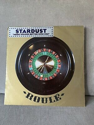 "Stardust - Music Sounds Better With You - Roule 12"" Vinyl - Rare • 8.50£"