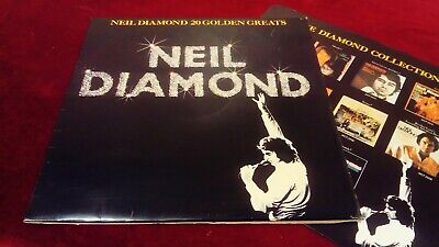 Neil Diamond - 20 Golden Greats - Original Uk Lp In Laminated Sleeve With Inner • 5.99£