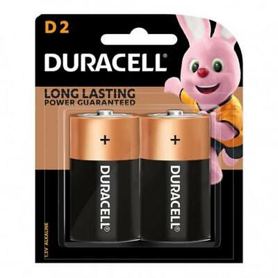 AU14.40 • Buy Duracell Coppertop Alkaline D Battery Pack Of 2