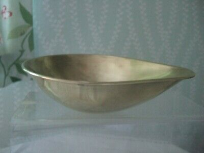 Vintage Brass Weighing Scales Bowl Pan Dish Spare Part Exc Condition • 4.75£