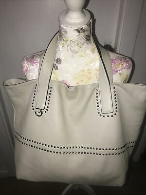 "COCCINELLE LADIES LARGE MUSHROOM LEATHER TOTE BAG STUNNING 20""14""Approx • 35£"