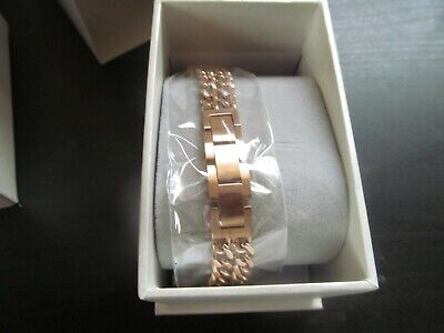 AU15.50 • Buy Seraph Gear Rose Gold Color Metal  Watch Band Strap For Fitbit Alta & Alta HR