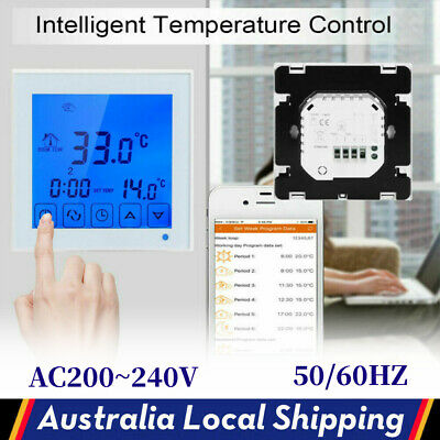 AU29.98 • Buy Household Electric Digital Temperature Controller Floor Heating Thermostat 240V