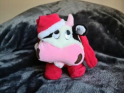 AU20 • Buy Gc Mousse Tooth Plush Christmas Cow - New - Not In Stores!