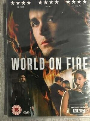 World On Fire Series 1 <Region 2 DVD> Brand New And Sealed • 6£