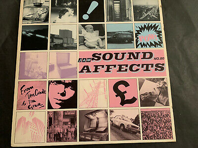 Jam Sound Affects No 80 From The Cradle To The Grave  1980 Vinyl [POLD5035] Rock • 1.80£