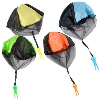 Hand Throwing Kids Mini Play Parachute Toy Man Model Outdoor Sports Toys • 6.10£