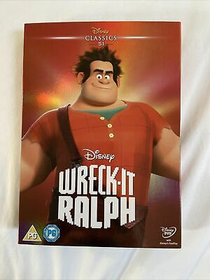 Disney's Wreck-it Ralph DVD With Limited Edition Classics Collection Sleeve 51 • 3£