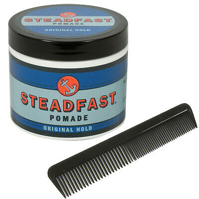 £12.88 • Buy STEADFAST 4 Oz Original Hold Pomade Rockabilly Greaser Free Comb NEW