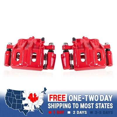 $148.55 • Buy Front Red Powder Coated Brake Caliper For Ford Escape Tribute Mariner