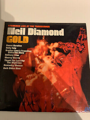 Neil Diamond - Gold Vinyl LP • 2.99£