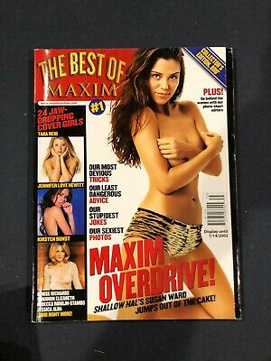 $ CDN3.74 • Buy Best Of Maxim, Vol. 1 Susan Ward Cover & Maxim  **Save With Combined Shipping**