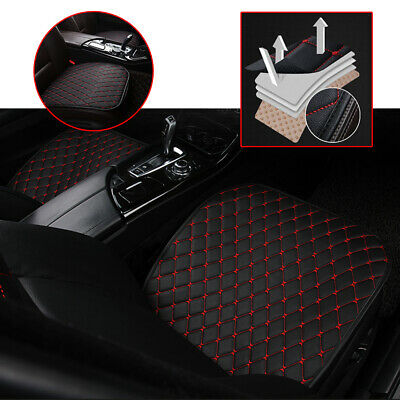 $ CDN17.43 • Buy PU Leather Car Cover Seat Protector Cushion Black Front Cover Universal