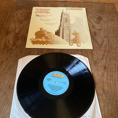 £4.99 • Buy Sound Effects Lp Vanishing Sounds In Britain1976 Bbc Stereo Old Machinery Etc.