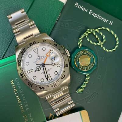 $ CDN18410.12 • Buy Rolex Explorer II 216570 White Dial 42mm Soon To Be Discontinued!
