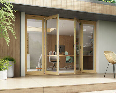 £1459 • Buy French Doors Double Glazed 54mm External - Unfinished Ready To Stain Or Paint