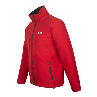 Gill Mens Crew Sport Sailing Jacket Red UK L RRP £110 (G109) • 50£