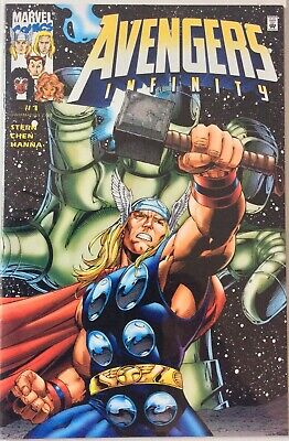 Avengers Infinity #1 Dynamic Forces Variant Cover (Marvel Comics 2000) 1329/5000 • 5£
