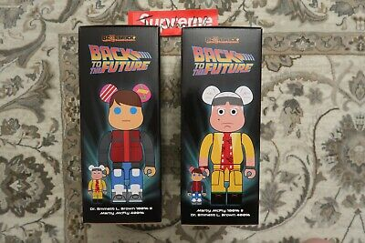 $500 • Buy Medicom DOC & MARTY 400% +100% Bearbrick Back To The Future 2020 DCON Exclusive