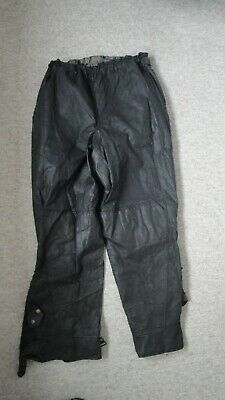 Wax Cotton Motorcycle Trousers  Used • 35£
