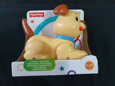 FISHER PRICE Lil' Snoopy Pull Along Dog • 4£