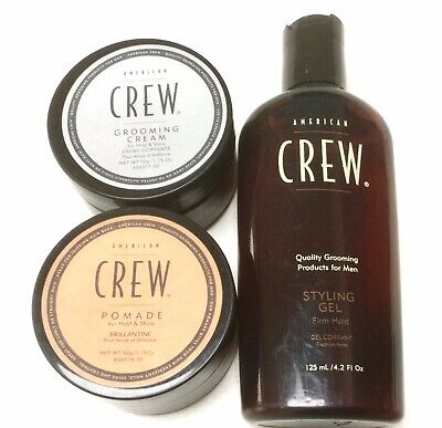 £15.30 • Buy American Crew. Styling Gel, Pomade, Grooming Cream. Hold & Shine. All Hair Types