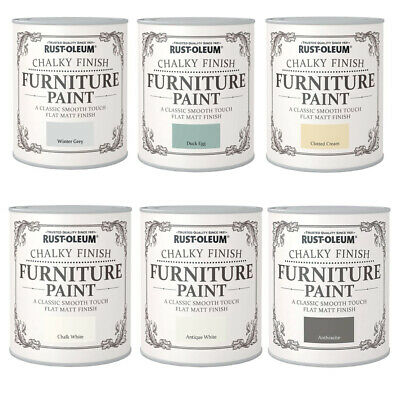 £16.61 • Buy Rust-Oleum Chalky Finish Furniture Paint 125ml Or 750ml