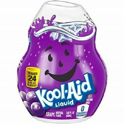 Kool-Aid Grape Flavor Enhancer Liquid Drink Mix Pack Of (12) Bottles • 37.62£