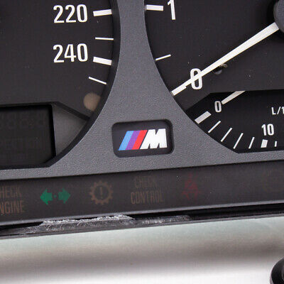 $12.99 • Buy BMW E36 Instrument Cluster M Logo Badge Backlight Compatible M3 And Non-M3