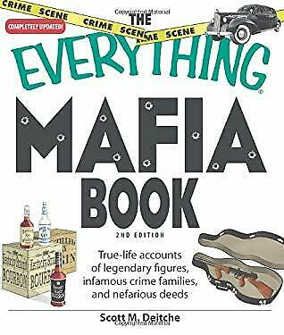 Everything Mafia Book : True-Life Accounts Of Legendary Figures, Infamous Crime  • 6.08£