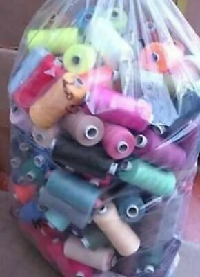 £12.99 • Buy 25 X 1000 Yards POLYESTER THREAD - MIXED/ASSORTED 25 Threads
