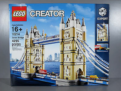 Brand New LEGO Exclusives And Treasures Tower Bridge (10214) • 231.60£