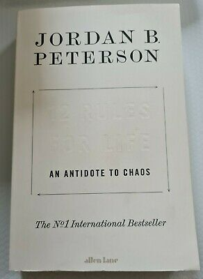 AU17 • Buy 12 Rules For Life An Antidote To Chaos Jordan B Peterson (New With Imperfection)