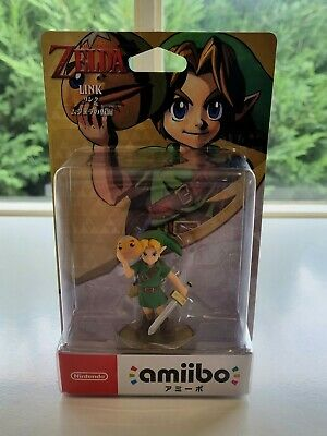 AU64.95 • Buy Nintendo Amiibo Link The Legend Of Zelda Majora's Mask – Japan Import